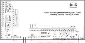 Merlin 5064 V4 схема подключения
