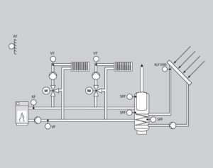 Merlin 5064 гидравлическая схема 1