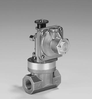 Предохранительно-запорные клапаны JSAV 25