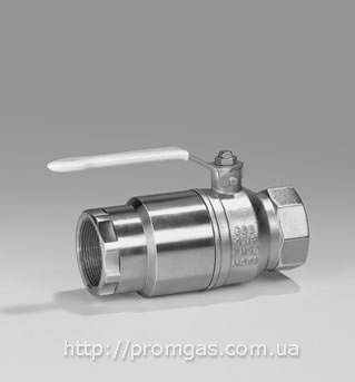 Кран с термозапорным клапаном AKT TAS
