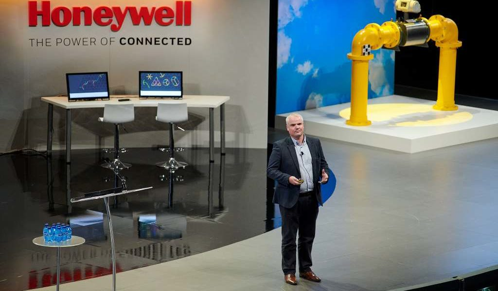 докладчик на конференции 2018 Honeywell EMEA Channel Partner Conference