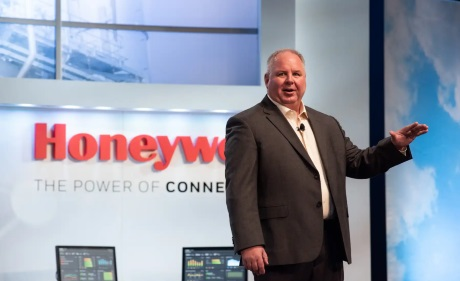 президент Honeywell Process Solutions Джон Рудольф на конференции партнеров Honeywell